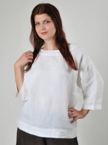 Light Linen Resort Shirt by Bryn Walker