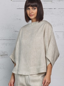 Linen Bateau Top by Planet