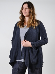 Linen Crinkled Jacket by Grizas