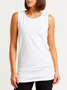 Lycra Ruched Tank by Planet