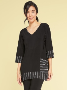 Match Stripe Tunic by Sympli