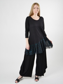Metallic Hem Tunic by Alembika