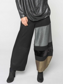 Metallic Panel Pant by Alembika