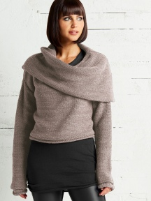 Mini Cowl Sweater by Planet