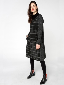 Mixed Sweater Dress by Alembika