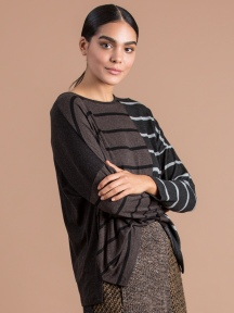 Multi-Stripe Top by Alembika