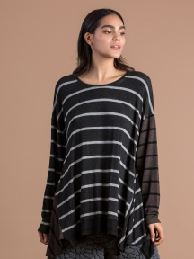 Multi-Stripe Tunic by Alembika