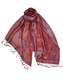 Nightingale Magenta Scarf