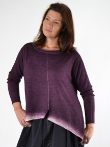 Ombre Pullover by MOYURU