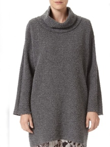 Oversize Popcorn Pullover by BABETTE