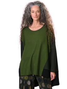 Oversized Green Top by Alembika