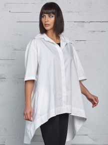 Pleat Back Shirt by Planet