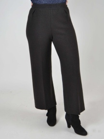 Pleated Wool Crop Pant by Butapana