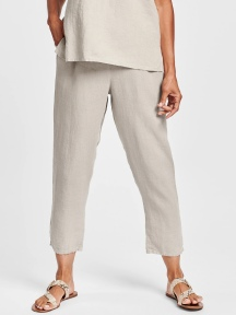 Pocketed Ankle Pant by Flax