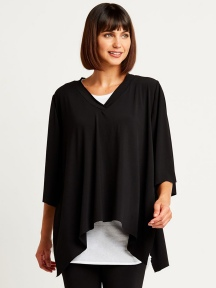 Poncho Top by Planet