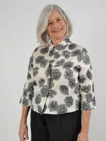 Print Cotton Gwen Blouse by Bryn Walker