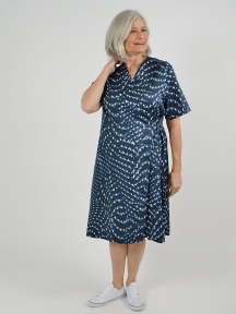 Print Cotton Jemma Dress by Bryn Walker