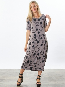 Print Philippa  Dress by Bryn Walker