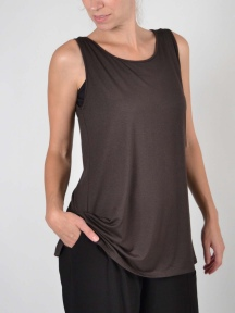 Relaxed Tunic Tank by Comfy USA