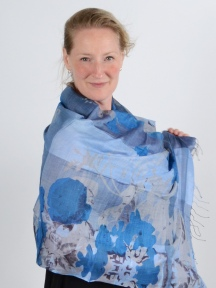 Remington Blue Scarf