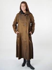 Reversible Long Donatella Coat by Mycra Pac