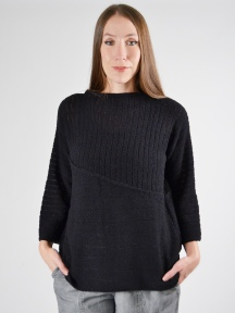 Ribbed Pullover by Grizas