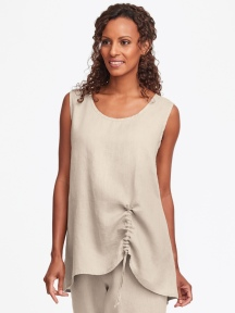 Ruched Tank by Flax