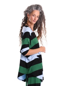 Rugby Stripe Tunic by Alembika