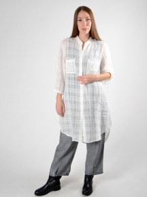 Sheer Tunic Blouse by Grizas