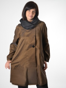 Short Donatella Coat by Mycra Pac