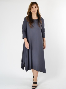 Side Draped Dress by Spirithouse