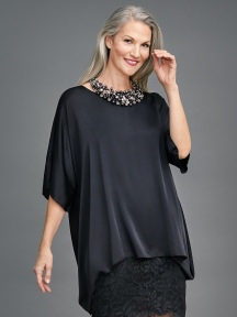 Silk Box Top by Sympli