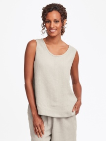Simple Linen Cami by Flax