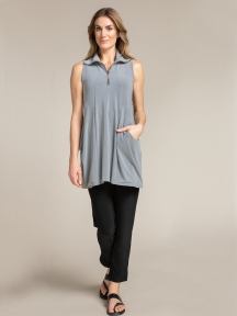 Sleeveless Double Take Tunic by Sympli