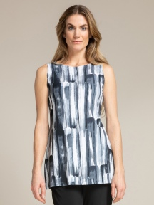 Sleeveless Nu Ideal Tunic Print by Sympli
