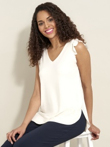 Sleeveless Romance Top by Sympli