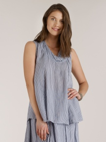 Sleeveless Stripe Top by Luna Luz