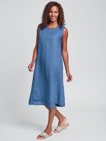 Solid Vancouver Dress by Flax