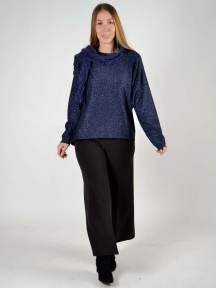 Sparkly Dolman Sweater by Inizio