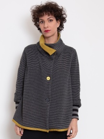 Splash of Citron Knit Jacket by Chiara Cocol
