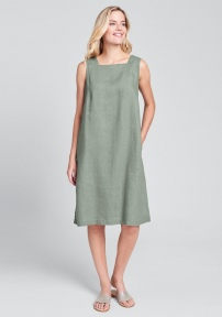 Square Neck Dress by Flax