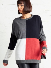 Squared Sweater by Planet