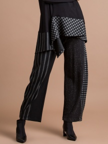 Stripe & Check Pant by Alembika