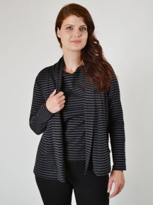 Stripe Cardigan by Klok
