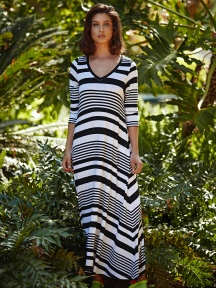 Stripe Dress by Alembika