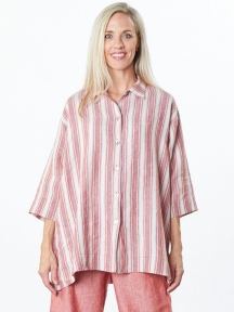 Stripe Gordon Shirt by Bryn Walker