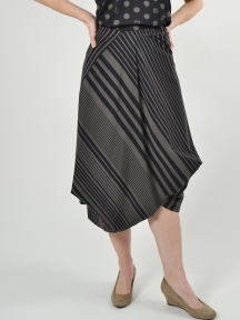 Striped Calder Skirt by Porto