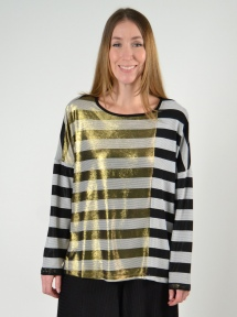Striped Long Sleeve Top by Alembika