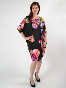 Swirl Dolman Dress by Alembika