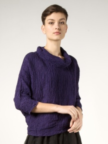 Textured Cowl Top by Grizas
